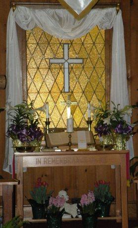Lewis Chapel Altar